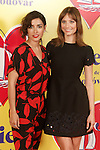 Spanish actresses Inma Cuesta (l) and Michelle Jenner attend the photocall of presentation of the Pedro Almodovar's new film 'Julieta'. April 4, 2016. (ALTERPHOTOS/Acero)
