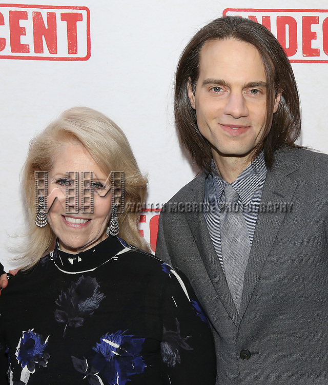 Daryl Roth and Jordan Roth attends the Broadway Opening Night Performance of  'Indecent' at The Cort Theatre on April 18, 2017 in New York City.