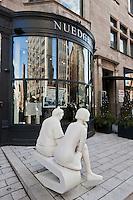 Amérique/Amérique du Nord/Canada/Québec/Montréal: Sculpture et Galerie d'art , rue Sherbrooke