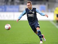 Fussball 2. Bundesliga:  Saison   2012/2013,    16. Spieltag  TSV 1860 Muenchen - SC Paderborn  27.11.2012 Arne Feick (1860 Muenchen)