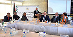 Palestinian Prime Minister Mohammad Ishtayeh, takes part in a workshop, in the West Bank city of Ramallah on January 8, 2020. Photo by Prime Minister Office