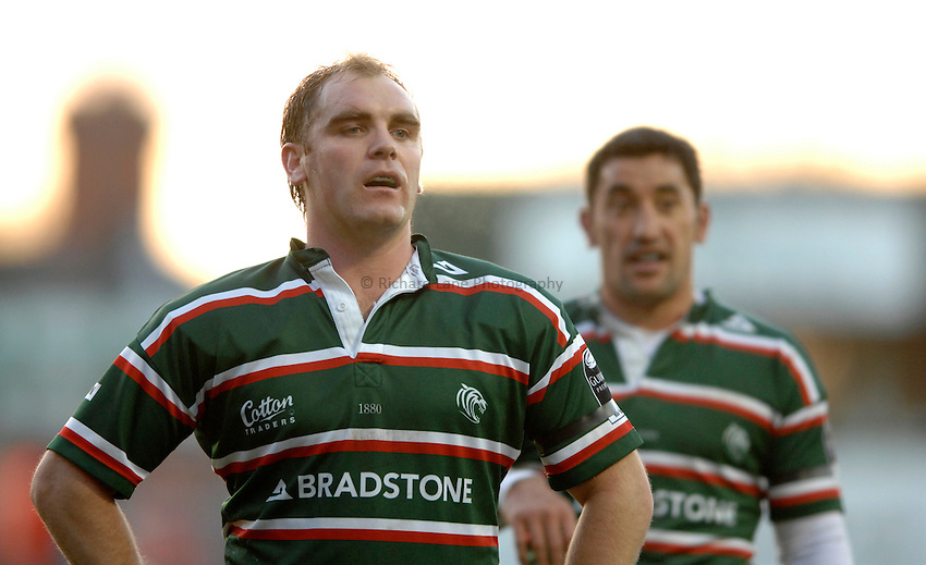 Photo: Richard Lane..Leicester Tigers v Bourgoin. Heineken Cup. 16/12/2006. .Tigers' Andy Goode.
