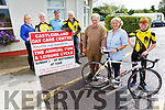 Castleisland Day Care Centre launch their the annual fun and leisure cycle on Monday.  <br /> Front l to r: Eamonn Breen, Marcella Finn (Nurse Manager) and Jack Breen. <br /> Back l to r: Martina O'Donoghue, Marcus Cronin, John Pender and Fred O'Dwyer.