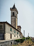 Bell tower, Castle of the Guidi Counts, Vinci, Tuscano, Italy