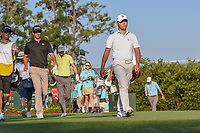 Si Woo Kim (KOR) heads down 10 during round 1 of The Players Championship, TPC Sawgrass, at Ponte Vedra, Florida, USA. 5/10/2018.<br /> Picture: Golffile | Ken Murray<br /> <br /> <br /> All photo usage must carry mandatory copyright credit (&copy; Golffile | Ken Murray)