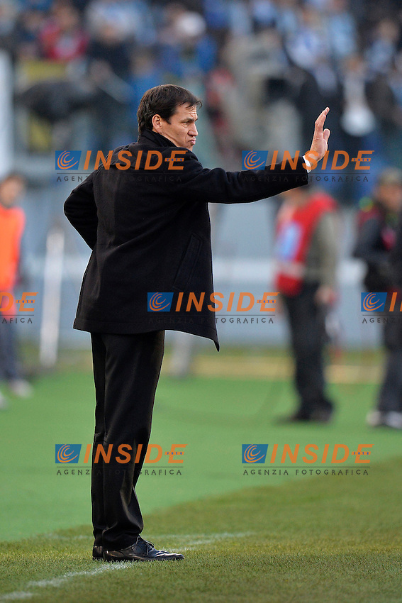 Rudi Garcia allenatore della Roma <br /> Roma 09-02-2014 Stadio Olimpico - Football Calcio Serie A 2013/2014 Lazio - As Roma Foto Andrea Staccioli / Insidefoto