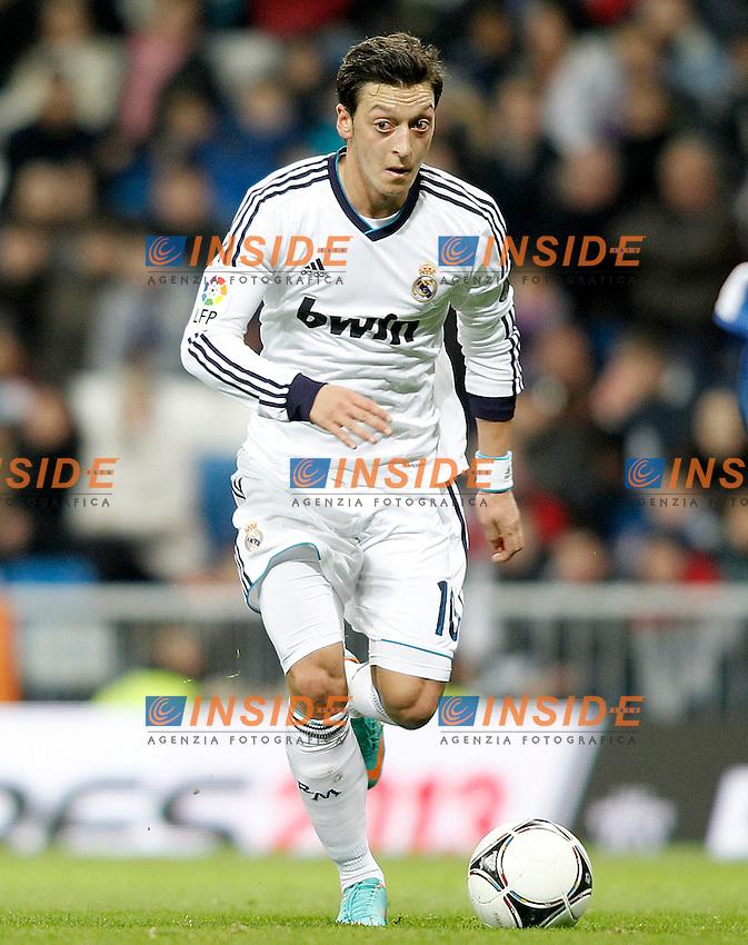 Real Madrid's Mesut Ozil during Spanish King's Cup match.November 27,2012. (ALTERPHOTOS/Acero) .Madrid 27/11/2012 Santiago Bernabeu.REAL MADRID v ALCOYANO Coppa del Re.Foto Alterphotos  / Insidefoto.Italy ONLY