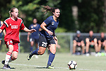 CARY, NC - JUNE 10: NC Courage trialist Maria Lubrano. The North Carolina Courage held a scrimmage against the CASL Red South U16 Boys team on June 10, 2017, at WakeMed Soccer Park Field 7 in Cary, NC.
