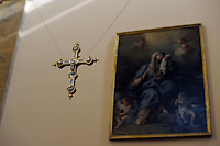 Chiesa Santa Maria del Suffragio, detta delle Anime Sante, Sec XVIII. Danneggiata dal terremoto del 2009 è stata parzialmente riaperta nel 2010.