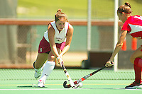 27 August 2005: Jessica Zutz during Stanford's 2-1 overtime loss to Miami (Ohio) at the Varsity Turf Field in Stanford, CA.