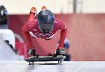 Janine Flock (AUT). Skeleton training. Alpensia sliding centrePyeongchang2018 winter Olympics. Alpensia. Republic of Korea. 13/02/2018. ~ MANDATORY CREDIT Garry Bowden/SIPPA - NO UNAUTHORISED USE - +44 7837 394578
