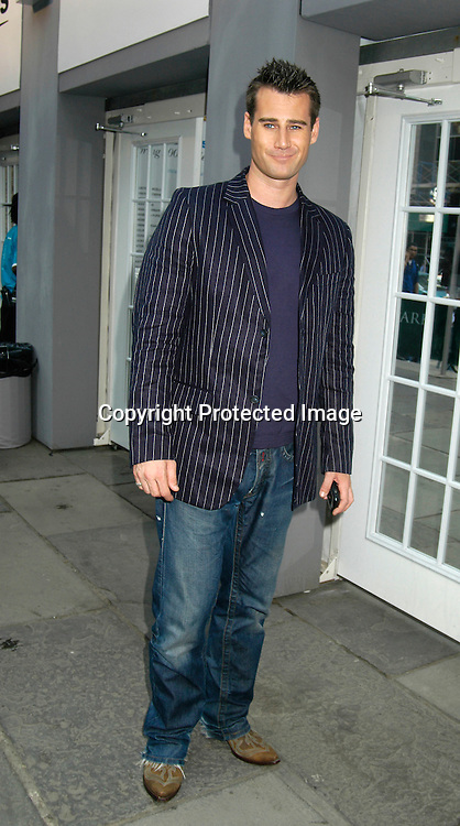 ..Tim Vincent ..at The Pamella Roland Spring 2006 FAshion Show on ..September 13, 2005 at the Tents at Olympus Fasion Week. ..Photo by Robin Platzer, Twin Images