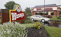 Scenes from Wendy's Restaurants Thursday, July 27, 2006, in Dublin, Ohio.<br />