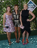 Cameron Candace Bure + Jodie Sweetin + Andrea Barber @ the 2016 Teen choice awards held @ the Forum.<br /> July 31, 2016