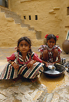 Mädchen in Jaisalmer (Rajasthan), Indien