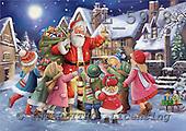 Interlitho, CHRISTMAS SANTA, SNOWMAN, paintings,+Santa,++++,santa,children,toys,KL5978,#X# Weihnachtsmänner, Papá Noel, Weihnachten, Navidad, illustrations, pinturas klassisch, clásico ,Simonetta,itdp