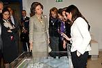 Madrid (08/03/2011).- S.M. La Reina, Da. Sofia de Grecia, en compania de S.E. Cecilia Morel de Pinera, primera dama de la Republica de Chile, visitan el Centro de Alzheimer de la Fundacion Reina Sofia...©Alex Cid-Fuentes..