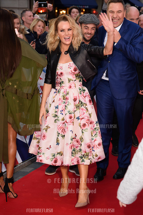Amanda Holden, Anthony McPartlin &amp; David Walliams at the London auditions for Britain's Got Talent 2018 at the London Palladium, London, UK. <br /> 28 January  2018<br /> Picture: Steve Vas/Featureflash/SilverHub 0208 004 5359 sales@silverhubmedia.com