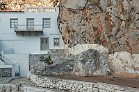 Traditional mansion at Hydra, Greece
