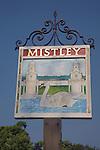 Mistley village sign, Essex, England