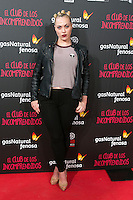 Daniela Blume attend the Premiere of the movie &quot;El club de los incomprendidos&quot; at callao Cinema in Madrid, Spain. December 1, 2014. (ALTERPHOTOS/Carlos Dafonte) /NortePhoto<br />