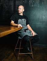 Executive Chef Duncan Holmes of Beckon and Call restaurant in Denver, Colorado, Thursday, May 26, 2019.
