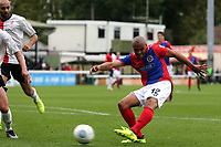 Elliott Romain of Dagenham during Woking vs Dagenham & Redbridge, Vanarama National League Football at The Laithwaite Community Stadium on 7th October 2017