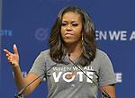 Michelle Obama at When We All Vote Rally in Miami