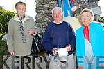 HOLY WATER: Getting some Holy Water from St Mary's Well Ballyheigue on Monday Kit Dillon (Listowel), Willie Woulfe (Templeglainte) and Mary Foley (Listowel).