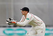 7th September 2017, Emirates Old Trafford, Manchester, England; Specsavers County Championship, Division One; Lancashire versus Essex; Lancashire keeper Jos Buttler