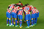 Atletico de Madrid's players during La Liga match. April 4,2017. (ALTERPHOTOS/Acero)
