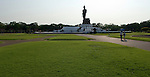 Nakhon Pathom - Thailand, February 25, 2012 -- Phuttamonthon, Puttamonthon, Buddha Monthon: a vast Buddhist park with a black Buddha statue (to be considered as the highest free-standing Buddha statue of the world) at the outskirts of Bangkok; culture, religion -- Photo © HorstWagner.eu