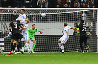 goal, Danny da Costa (Eintracht Frankfurt) erzielt das Tor zum 1:0 - 04.10.2018: Eintracht Frankfurt vs. Lazio Rom, UEFA Europa League 2. Spieltag, Commerzbank Arena, DISCLAIMER: DFL regulations prohibit any use of photographs as image sequences and/or quasi-video.