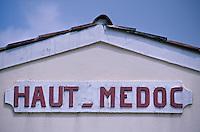 Europe/France/Aquitaine/33/Gironde/Château Belorme: Détail - AOC Haut-Médoc