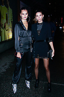 NEW YORK, NY - FEBRUARY 7: Gizele Oliveira and Cindy Mello  seen on February 7, 2019 in New York City. <br /> CAP/MPI/DC<br /> &copy;DC/MPI/Capital Pictures