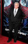 WESTWOOD, CA - JUNE 28: Martin Sheen. arrives at the Los Angeles premiere of 'The Amazing Spiderman' at Regency Village Theatre on June 28, 2012 in Westwood, California.