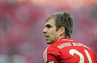FUSSBALL      DFB POKAL FINALE       SAISON 2011/2012 Borussia Dortmund - FC Bayern Muenchen   12.05.2012 Philipp Lahm (FC Bayern Muenchen)