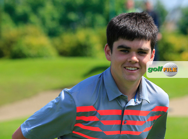 Ciaran Vaughan (Limerick) wins the 2016 Connacht U18 Boys Open, played at Galway Golf Club, Galway, Galway, Ireland. 07/07/2016. <br /> Picture: Thos Caffrey | Golffile<br /> <br /> All photos usage must carry mandatory copyright credit   (&copy; Golffile | Thos Caffrey)