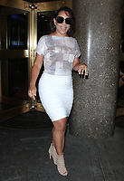 NEW YORK, NY August 03: Selenis Leyva at New York Live promoting the new season of Orange Is The New Black in New York. August 03, 2018. <br /> CAP/MPI/RW<br /> &copy;RW/MPI/Capital Pictures