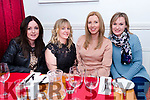 Rose Fitzgerald (Lios Póil), Michelle Russell (Baile na nGall), Sinead Uí Chearna (Dún Chaoin) and Aideen Fitzgerald (Gallarus) enjoying Nollaig na mBan at Doyle's in Dingle.