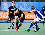 UTRECHT - Floris van der Kroon (HGC)   tijdens de hoofdklasse  hockeywedstrijd heren, Kampong-HGC (3-3) . COPYRIGHT KOEN SUYK