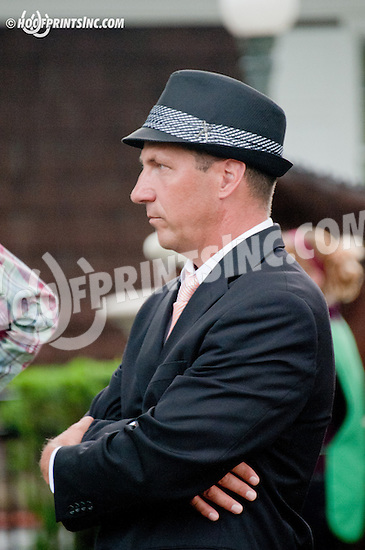 Kelly John Breen before Dashing Beauty Stakes  at Delaware Park on 6/27/13
