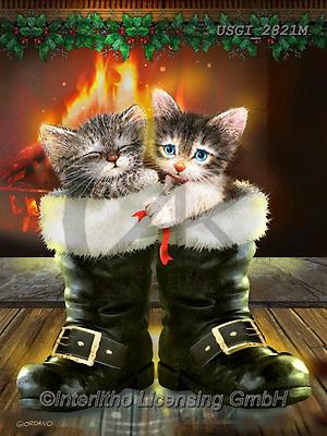 GIORDANO, CHRISTMAS ANIMALS, WEIHNACHTEN TIERE, NAVIDAD ANIMALES, paintings+++++,USGI2821M,#xa#