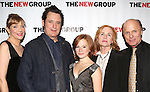 Glenne Headly, Bill Pullman, Juliet Brett, Amy Madigan and Ed Harris attend the Opening Night Party for 'the New Group Production of 'The Jacksonian' at Ktchn in The Out on November 7, 2013  in New York City.