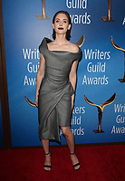 BEVERLY HILLS, CA - FEBRUARY 11:  Alison Brie at the 2018 Writers Guild Awards L.A. Ceremony at The Beverly Hilton Hotel on February 11, 2018 in Beverly Hills, California. <br /> CAP/MPI/FS<br /> &copy;FS/MPI/Capital Pictures