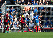 9th September 2017, Ibrox Park, Glasgow, Scotland; Scottish Premier League football, Rangers versus Dundee; Rangers' Carlos Alberto Pena scores for 3-0