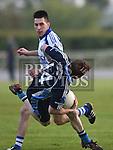 St Colmcilles Damien Beakey Slane Alan Harding. Photo:Colin Bell/pressphotos.ie
