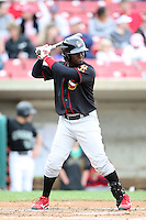 May 15, 2010: C. J. Beatty of the Quad City River Bandits at Elfstrom Stadium in Geneva, IL. The River Bandits are the Class A affiliate of the St. Louis Cardinals. Photo by: Chris Proctor/Four Seam Images