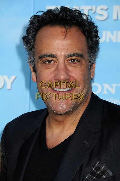 "Brad Garrett.""That's My Boy"" Los Angeles Premiere held at the Regency Village Theatre, Westwood, California, USA..June 4th, 2012.headshot portrait black .CAP/ADM/BP.©Byron Purvis/AdMedia/Capital Pictures."