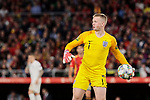 England's Jordan Pickford during UEFA Nations League 2019 match between Spain and England at Benito Villamarin stadium in Sevilla, Spain. October 15, 2018. (ALTERPHOTOS/A. Perez Meca)